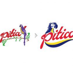 Evolucion del logotipo Piticó