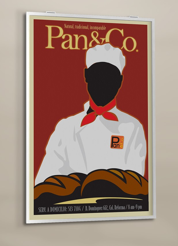 Cartel Pan&Co