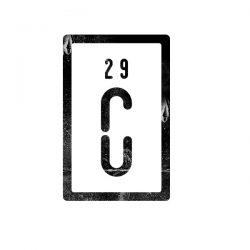 El Símbolo CU29 (cobre)