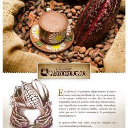 Publicidad Chocolates Mayordomo