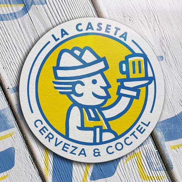 Marca: La Caseta Diseño gráfico en Oaxaca