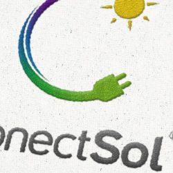 Logotipo bordado en tela