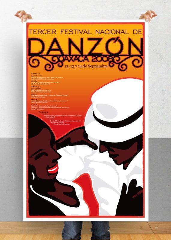 Cartel Festival Danzón