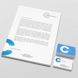 Hoja carta y tarjetas de presentación
