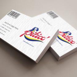 Aplicación del logo en tarjetas